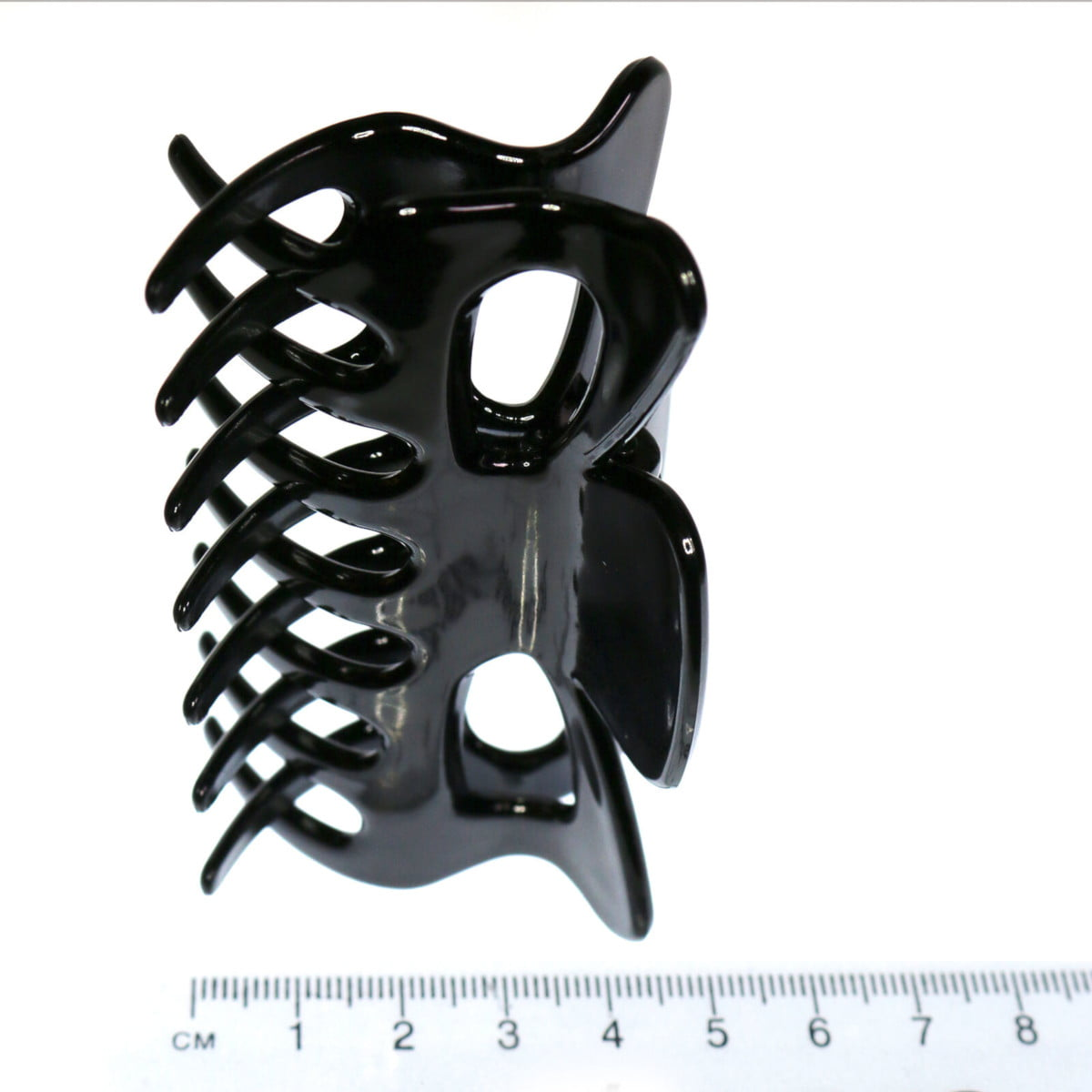 Large black hair claw. Pack of 4 2