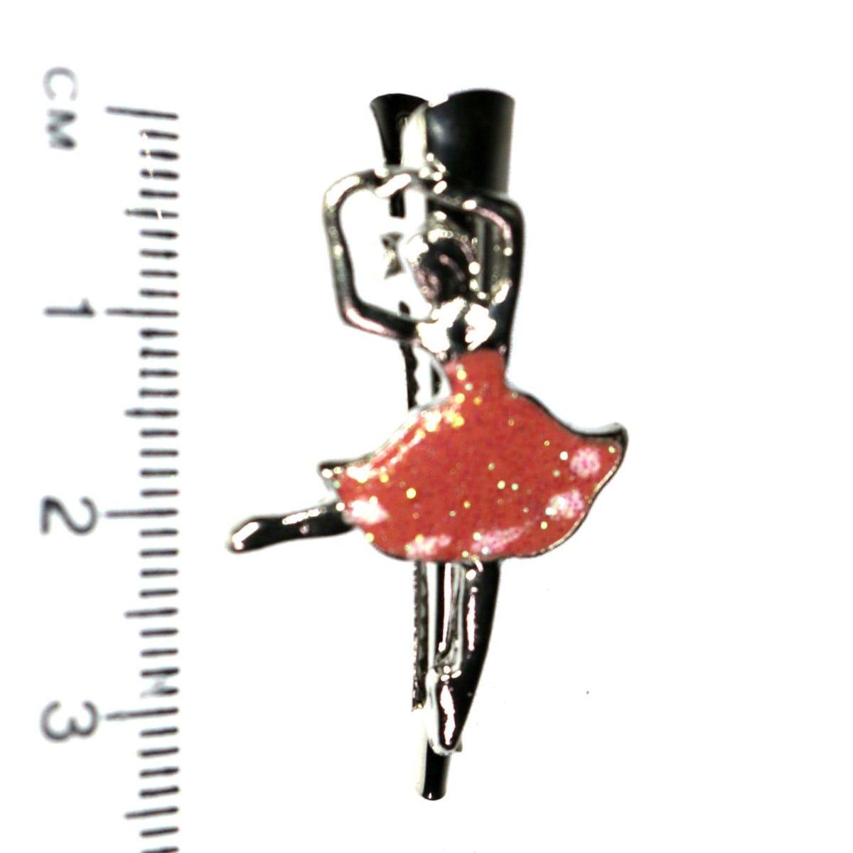 Ballerina hair clip on a beak clip. 2