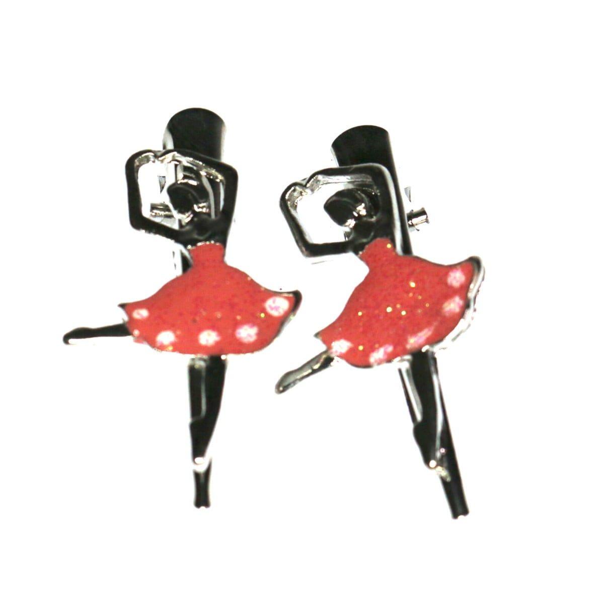 Ballerina hair clip on a beak clip.