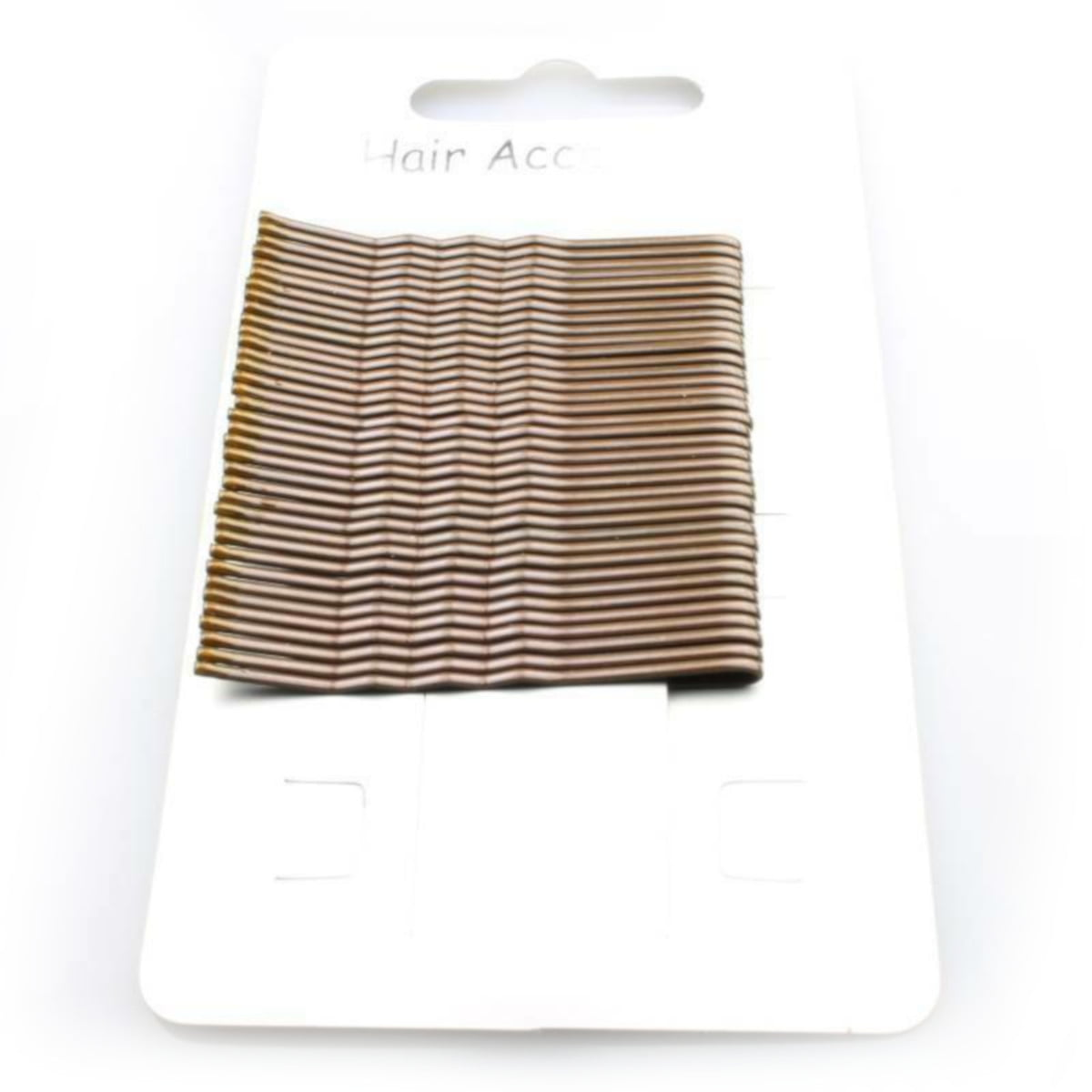 Card of 36 Brown Hair Grips
