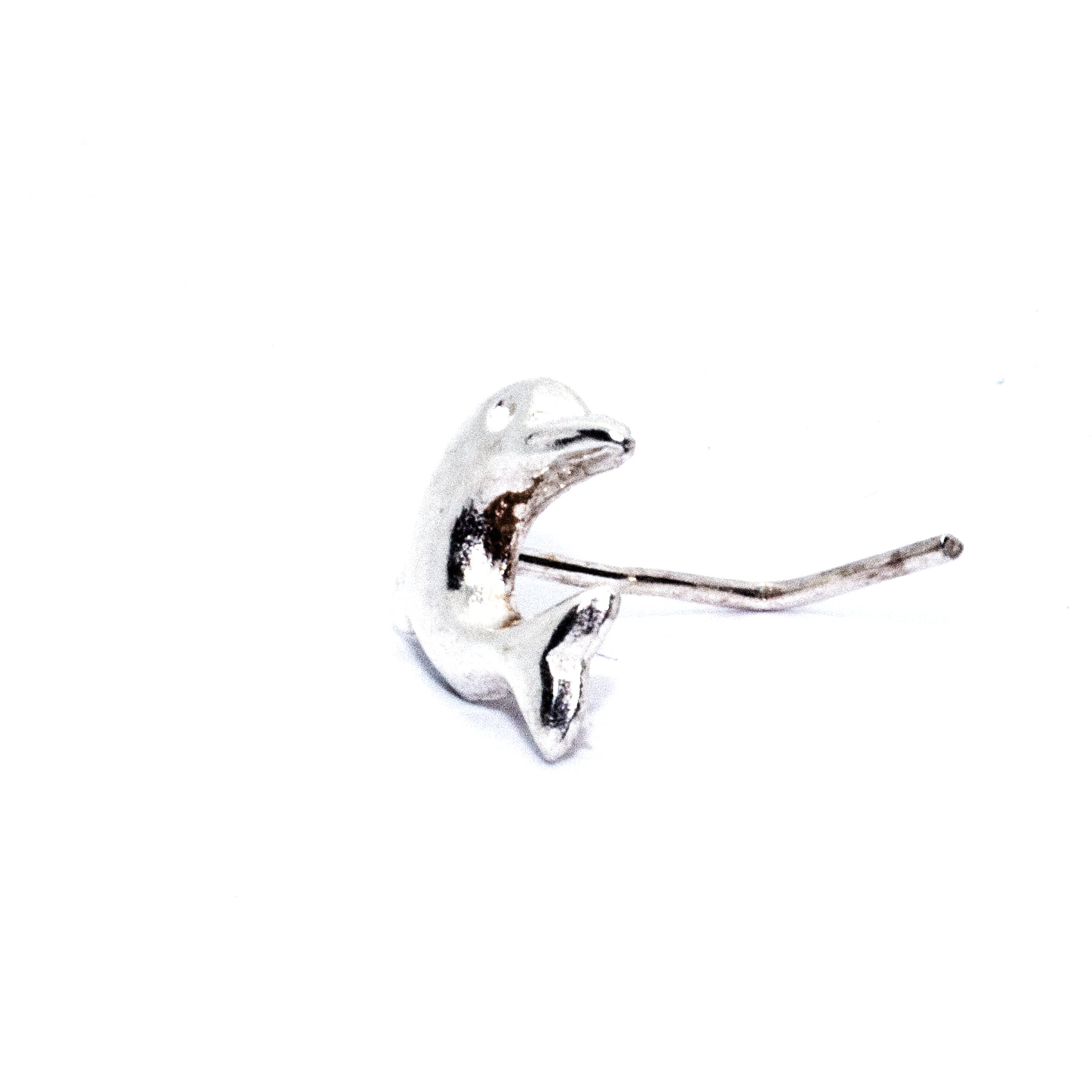Nose stud silver dolphin (alt7)