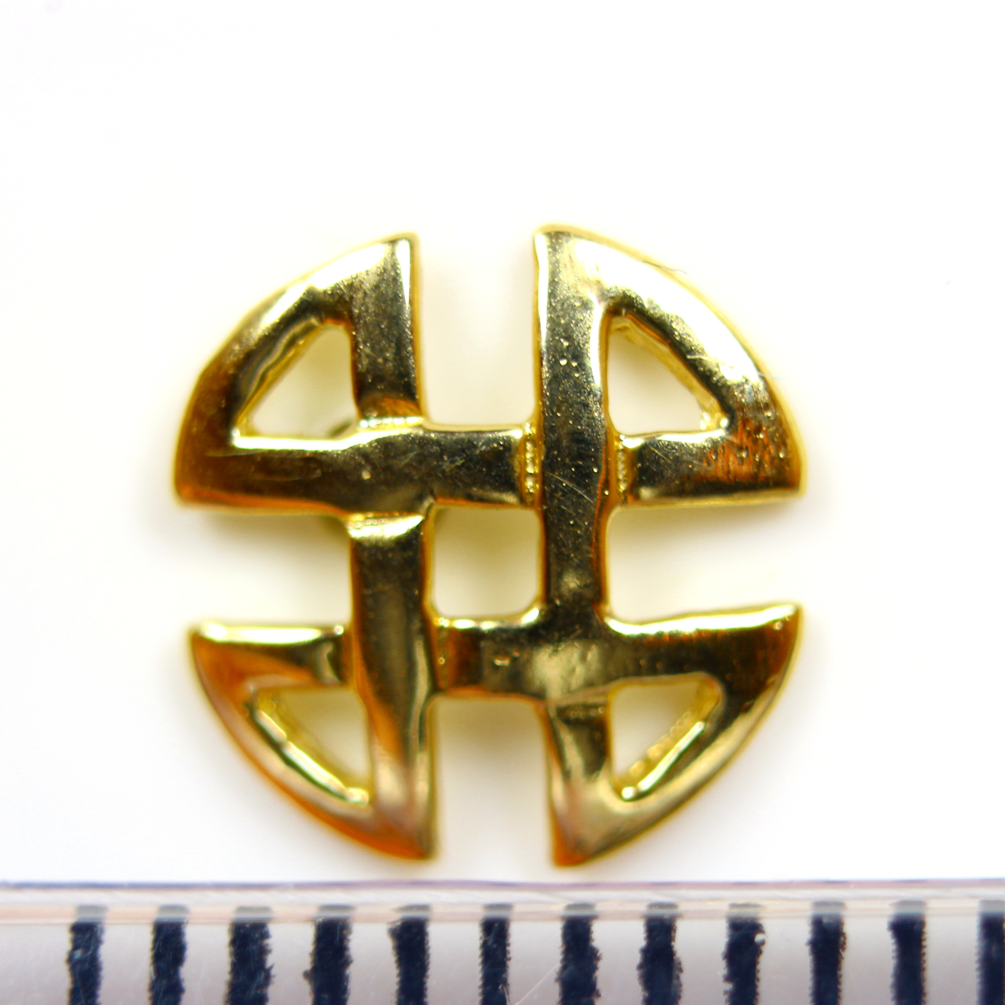 Arranview Jewellery Celtic Knotwork 8mm Stud Earring - 9ct Yellow Gold Nx4fG