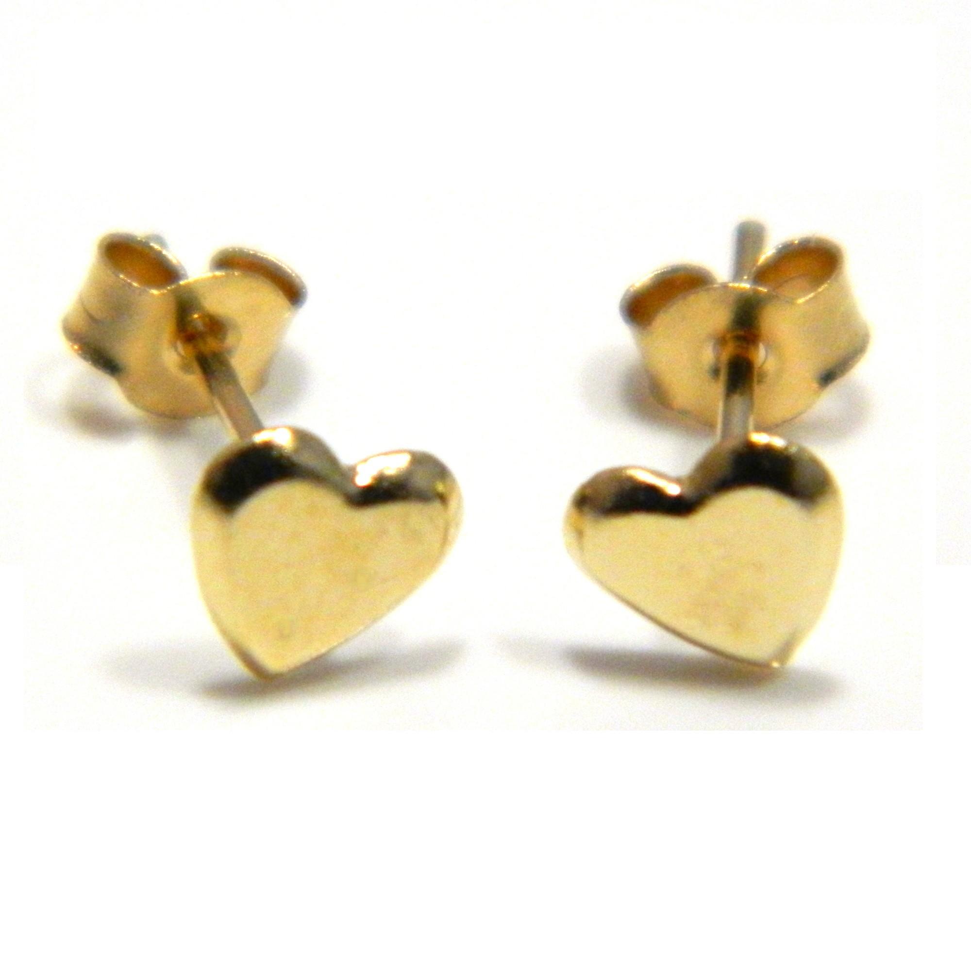 Arranview Jewellery Heart Stud Earring - 9ct Gold gIbBp