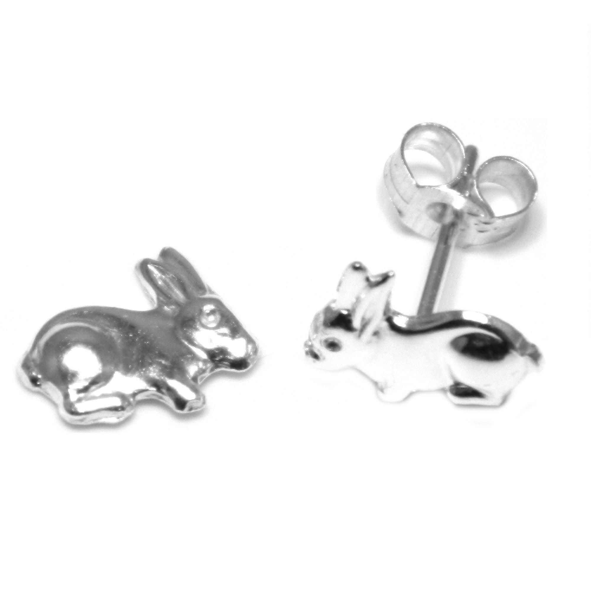 Silver Animal Earrings