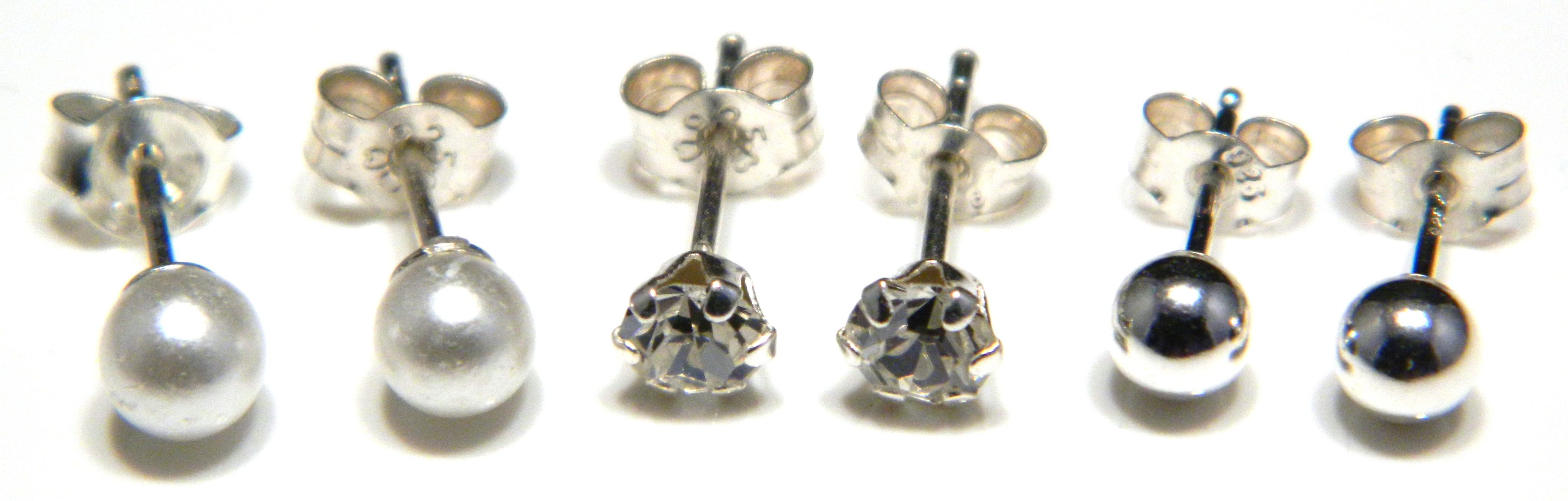 palladium sue perfect and modern for earrings mm diamond contemporary by maker everyday designer products stud handmade