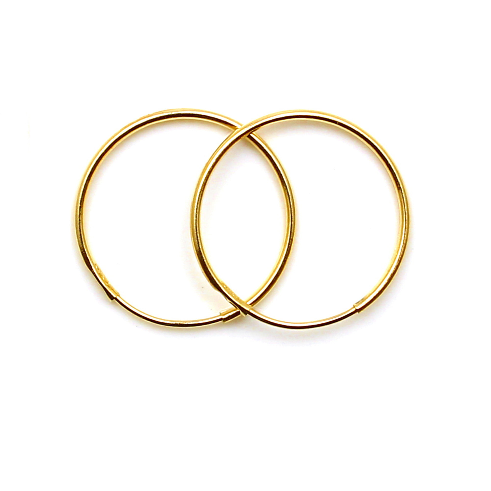 12mm gold hoops 9ct yellow gold