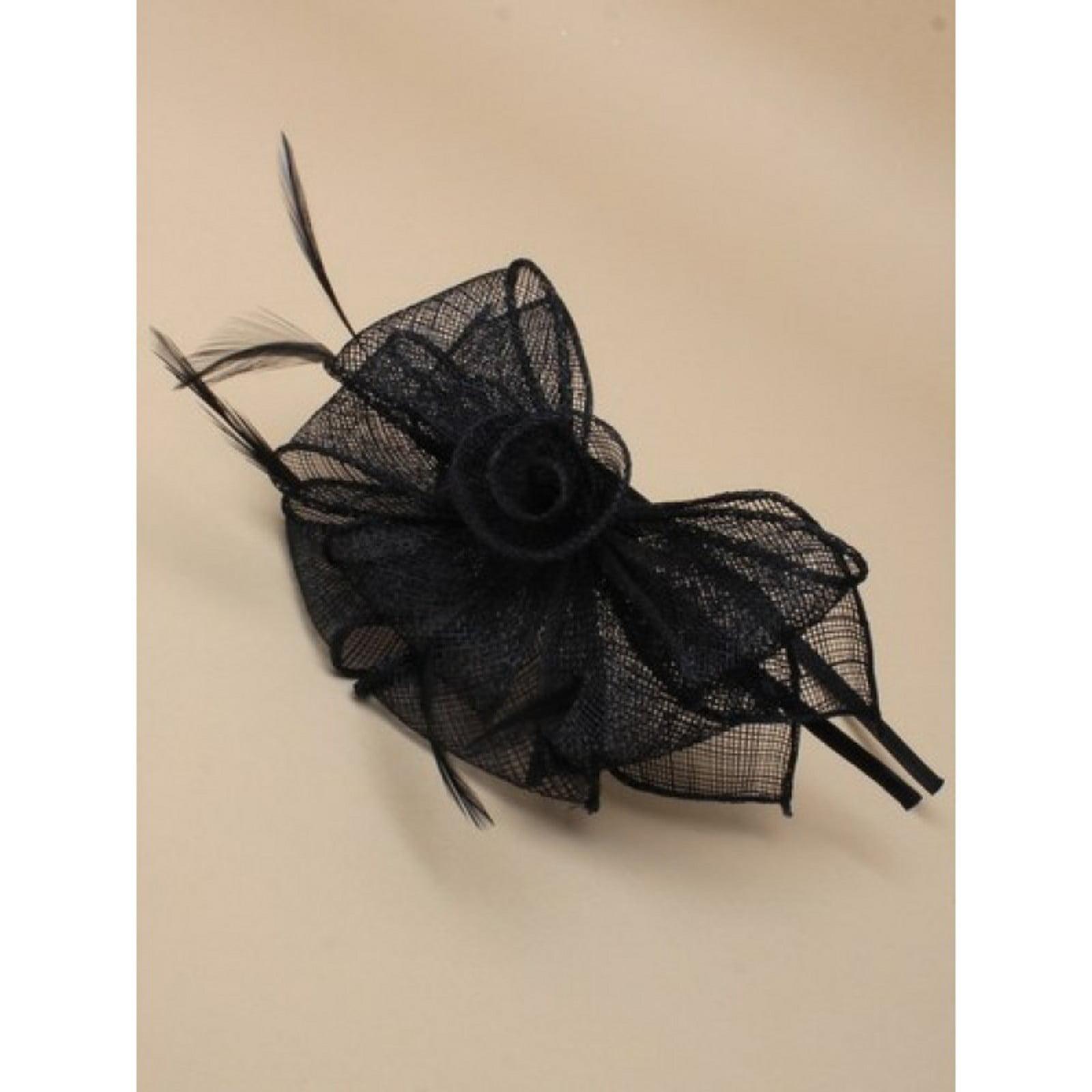 Arranview 5912-1 black fascinator