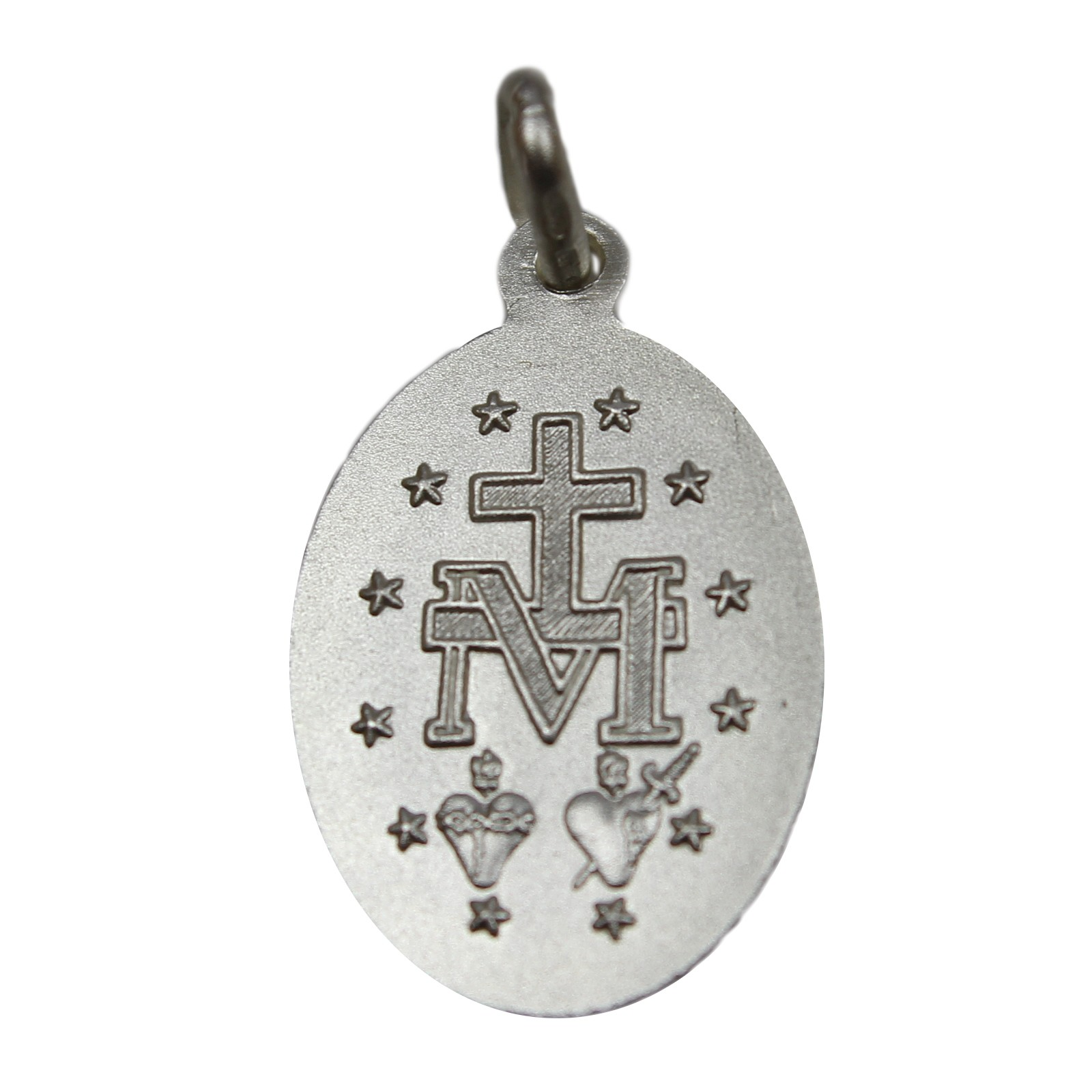 sterling silver miraculous medal arran view jewellery