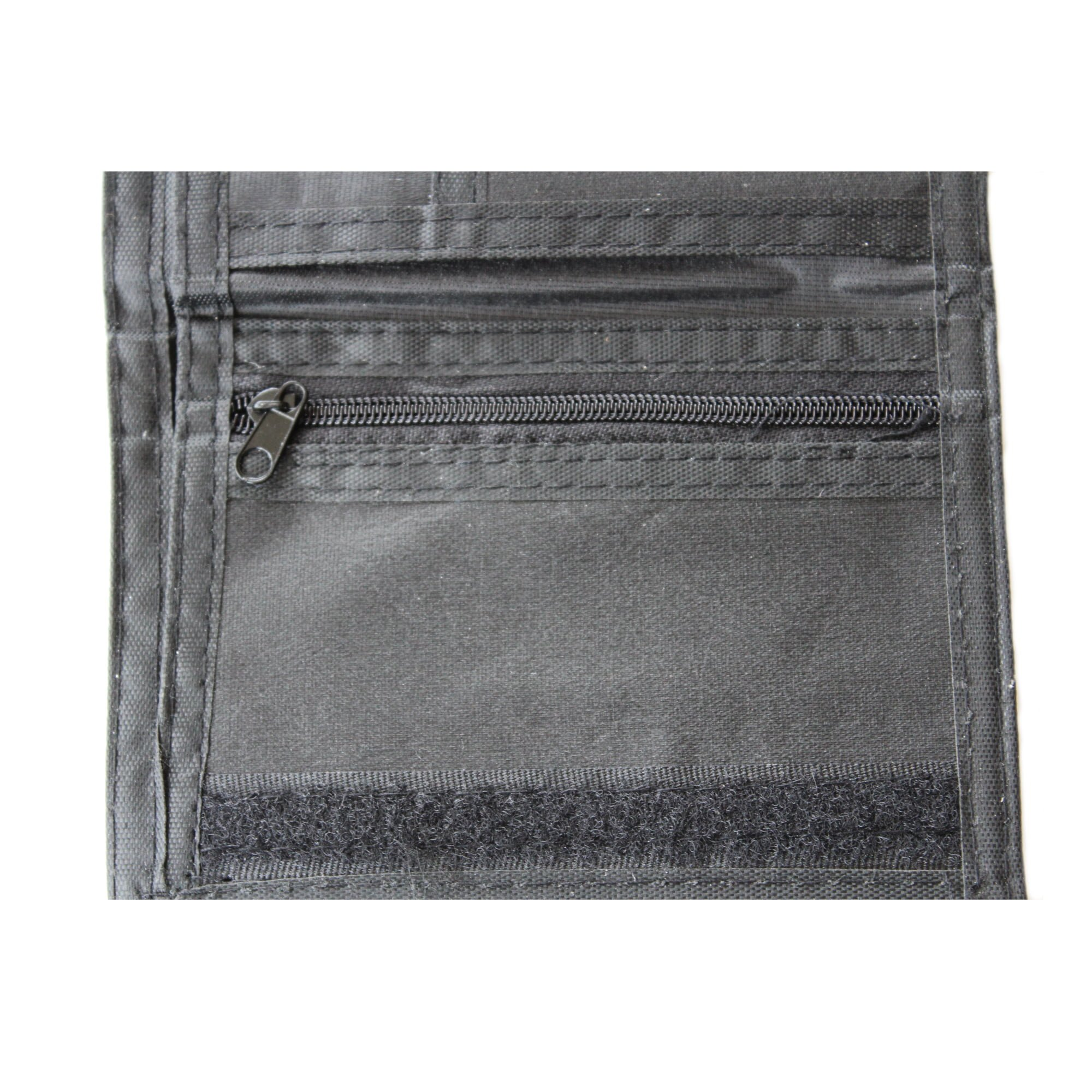 Dark green camouflage wallet ZIP