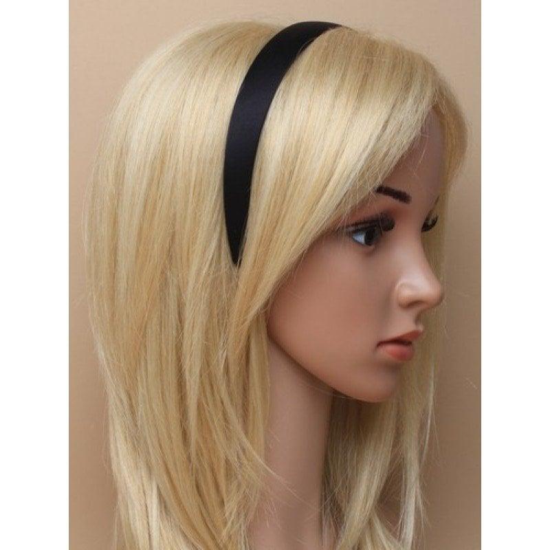 headband on model