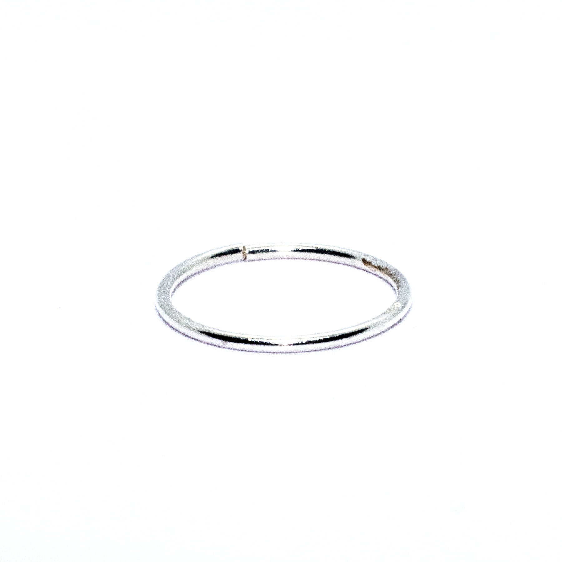 Nose ring in sterling silver (alt1)