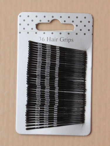 Card of 36 black kirby grips. Approx 4 cm.