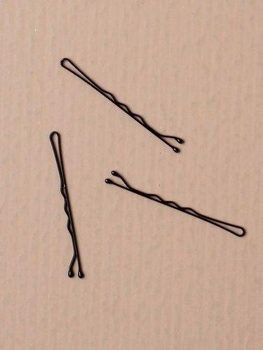 Card of 36 black enamel kirby grips. Approx 5.5 cm. (alt 1)