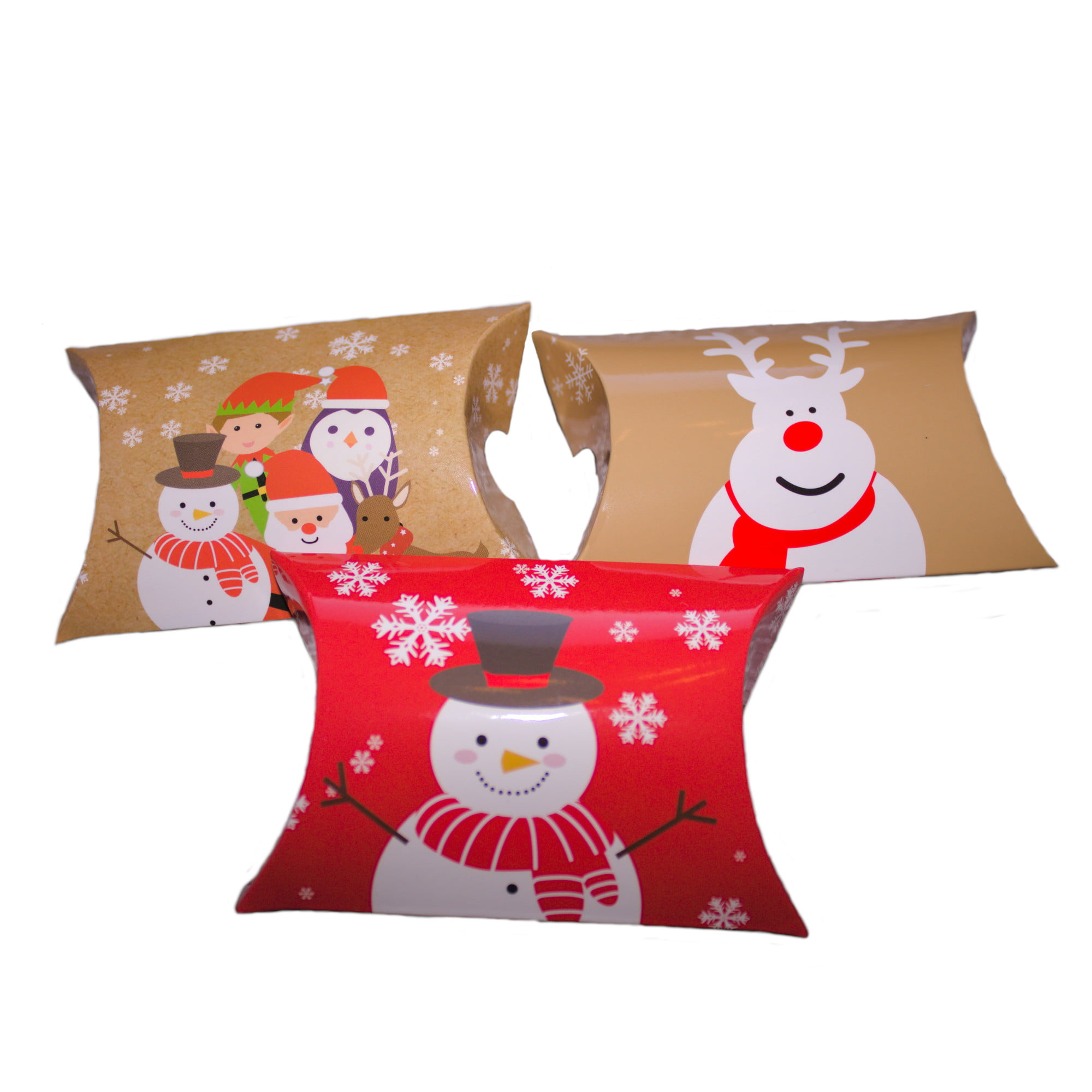 xmas pillow boxes