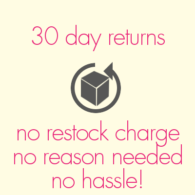 hasstle free 30 day returns