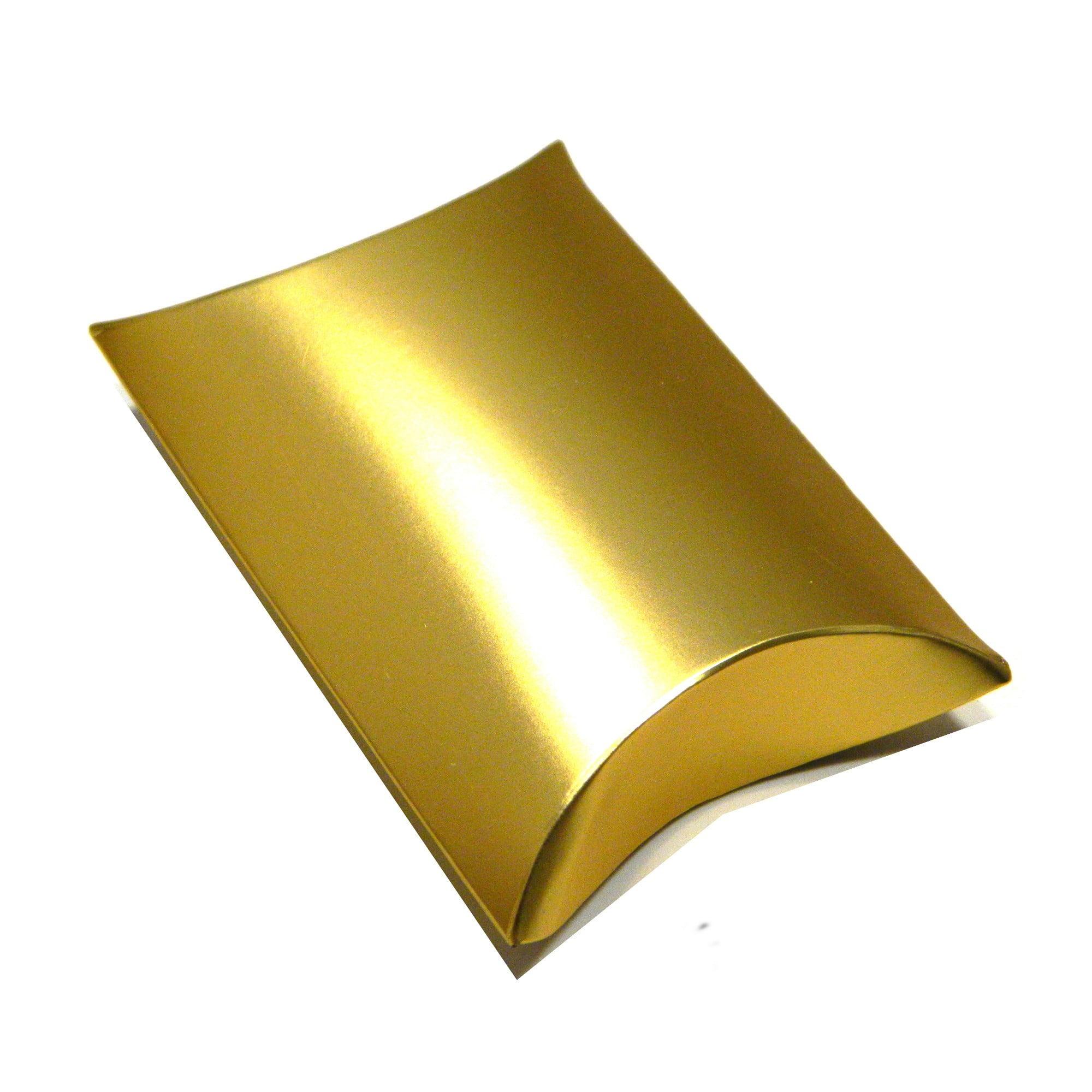 12 gold mini pillow packs gift bags ...  sc 1 st  Arran View Jewellery & 12 gold mini pillow packs gift bags for wedding favours etc | Arran ...