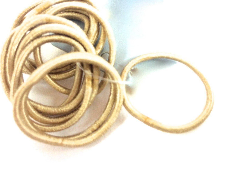 Blonde hair elastics. Small 8fed0656122