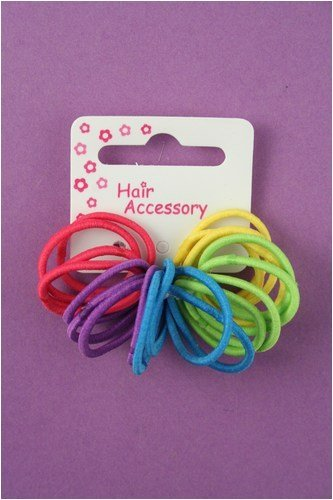 20 pack small and bright hair elastics  a077d147ef0