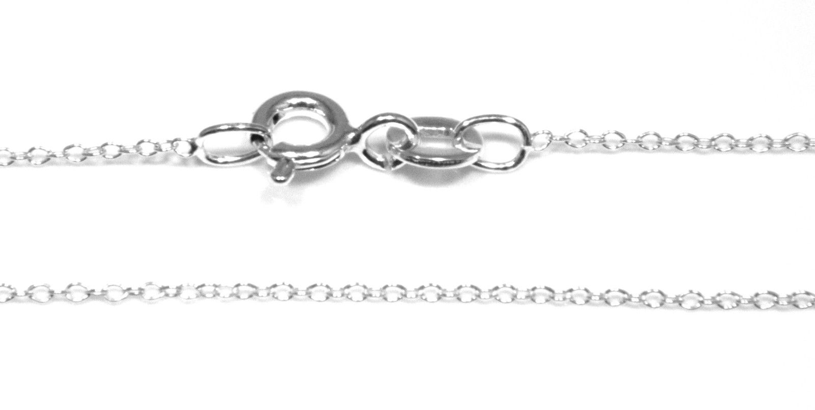 925 Sterling Silver 46cm//18inch Childs Chain 2mm Gauge Belcher Style