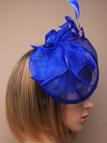 Arranview 4919-1 blue fascinator