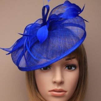 Arranview 4919-2 blue fascinator