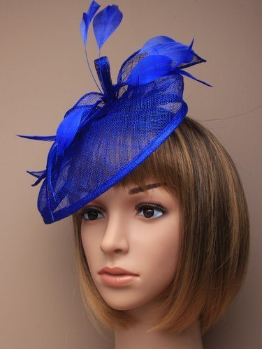 Arranview 4919-3 blue fascinator