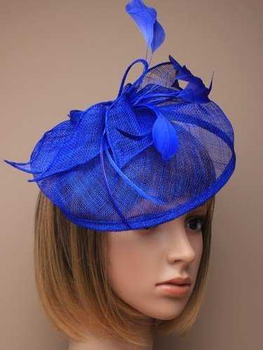 Arranview 4919 blue fascinator