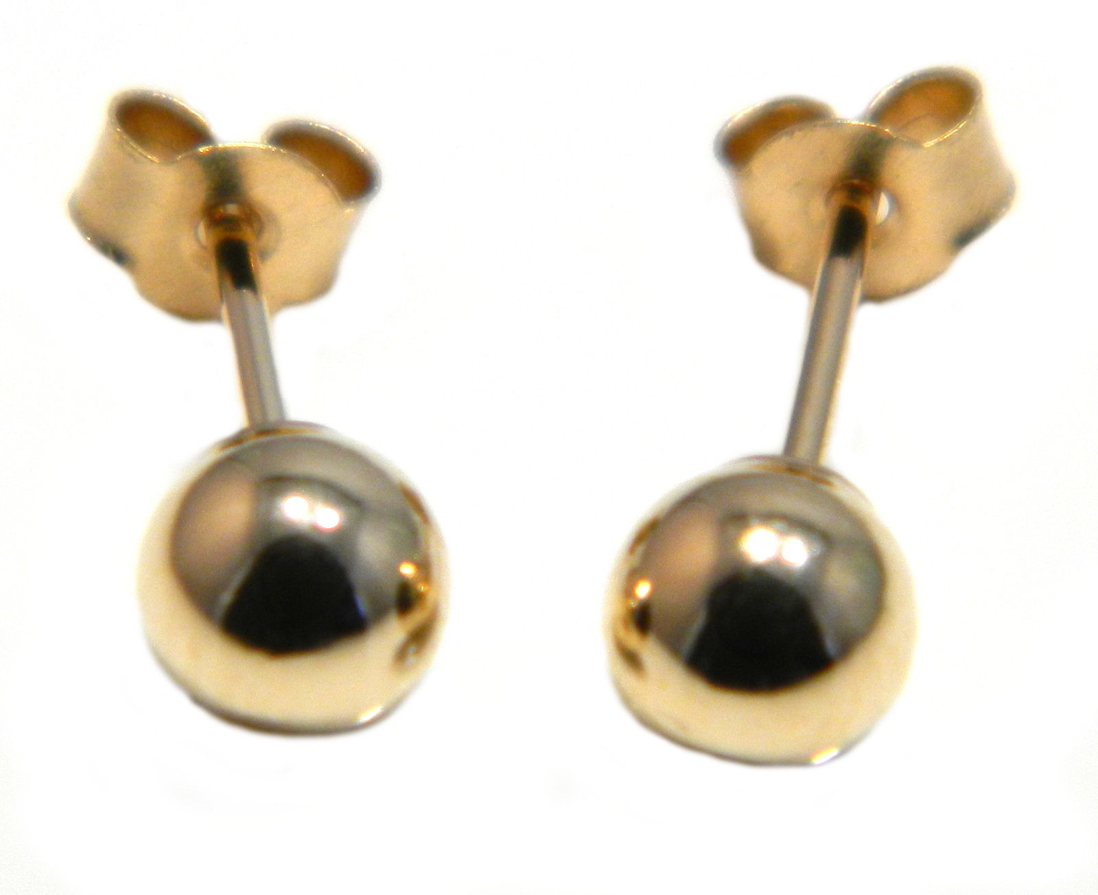 Arranview Jewellery Ladies 3 mm Gold Ball Stud Earrings in 9ct Yellow Gold 3ythcgBZB