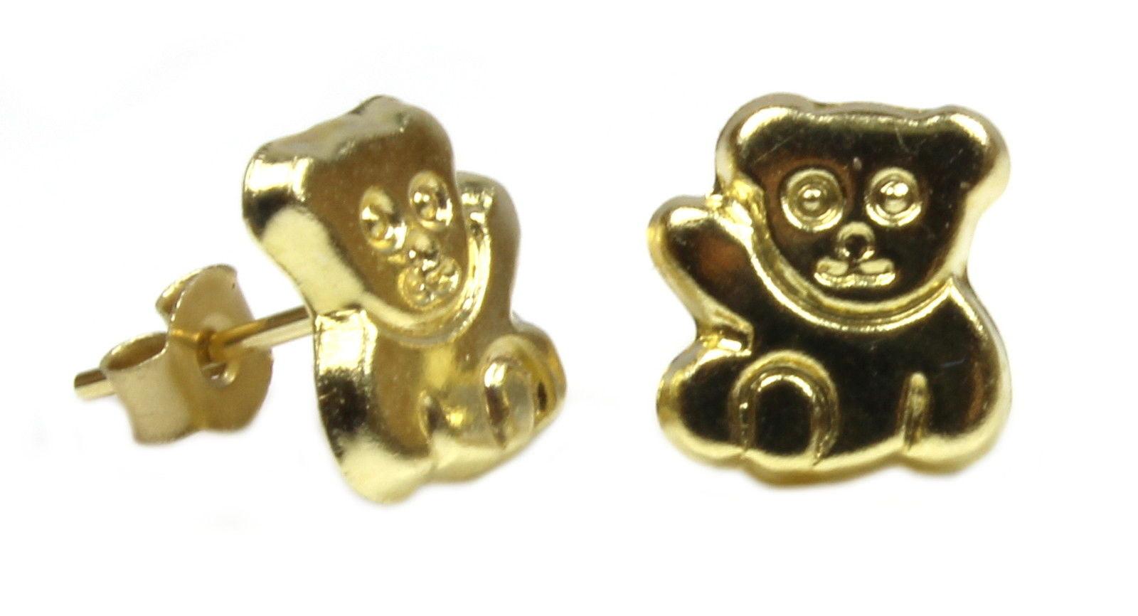 Arranview Jewellery Puppy Dog Stud Earring - 9ct Gold 4NCZYJ5bo